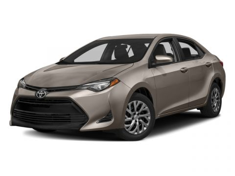 New 2017 Toyota Corolla SE CVT Automatic (Natl)