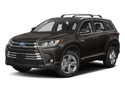 New 2017 Toyota Highlander Hybrid XLE V6 AWD (Natl)
