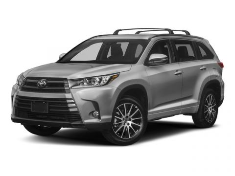 New 2017 Toyota Highlander SE V6 AWD (Natl)
